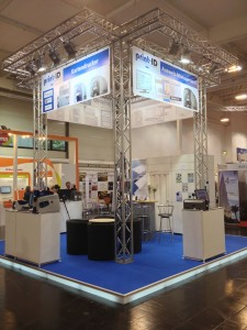print-ID Messestand Security 2012