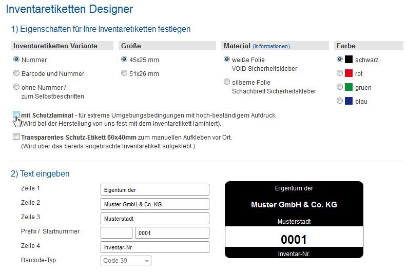 inventaretiketten-designer
