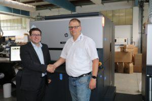 HP Indigo 6900 print-ID