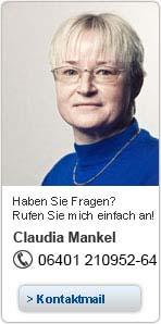 Ihre Ansprechpartnerin für Etikettendrucker und Barcodescanner Claudia Mankel