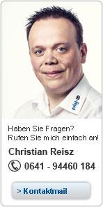 Ihr Ansprechpartner für Kartendrucker Christian Reisz