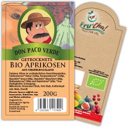 Druckbeispiel für bedruckte Etiketten zur Lebensmittelkennzeichnung
