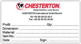Druckbeispiel für bedruckte Etiketten zur Produktkennzeichnung