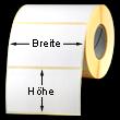 Rollen-Etiketten Format