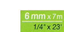 Breite 6 mm