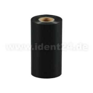 Farbband Wachs+, 110mm x 300m, schwarz - Inkside out