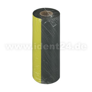 Farbband Wachs+, 154mm x 300m, schwarz - Inkside out