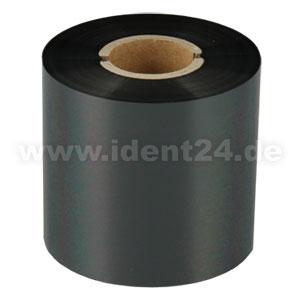 Farbband Wachs/Harz, 60mm x 300m, schwarz - Inkside out