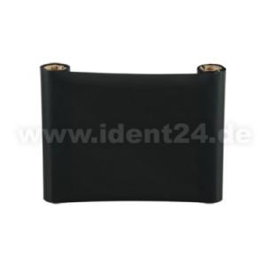 Farbband Wachs/Harz, 110mm x 74m, schwarz für 4 Zoll Etikettendrucker