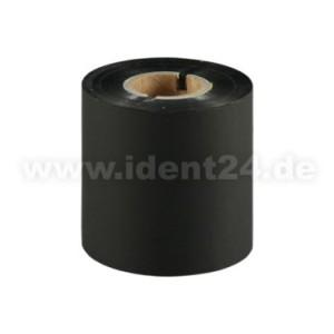 Farbband Wachs/Harz, 80mm x 300m, schwarz - Inkside out