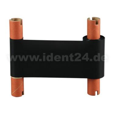 Farbband Wachs/Harz, 57mm x 65m, schwarz für 4 Zoll Etikettendrucker