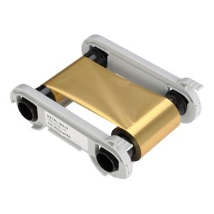 Evolis Farbband gold metallic - 1.000 Images / Rolle