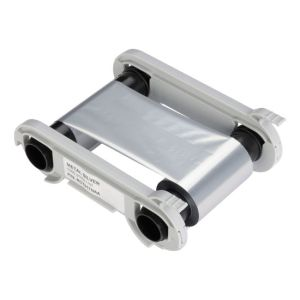 Evolis Farbband silber metallic - 1.000 Images / Rolle