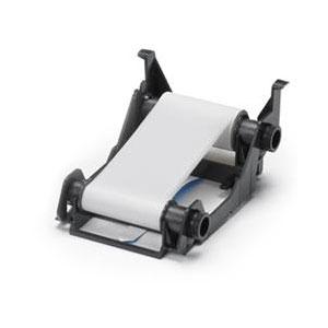 Zebra Farbband weiß ZXP1