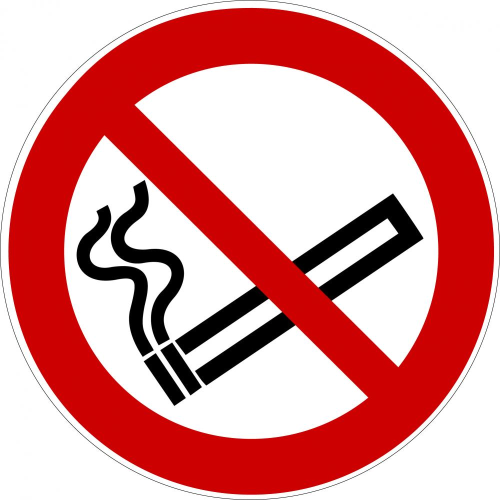 P002 - Rauchen verboten - selbstklebend