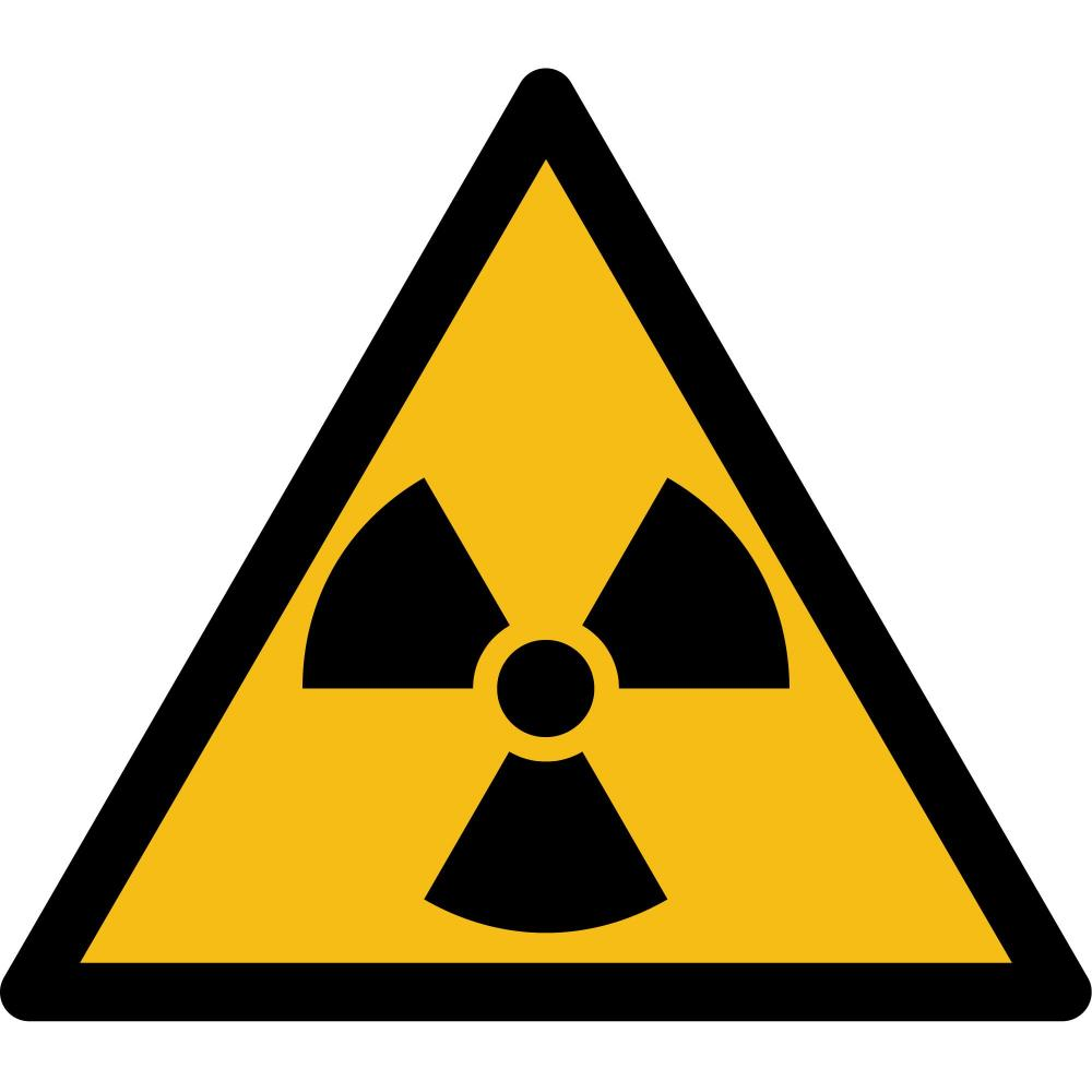 w003 warnung vor radioaktiven stoffen oder ionisierenden strahlen selbstklebend preis. Black Bedroom Furniture Sets. Home Design Ideas