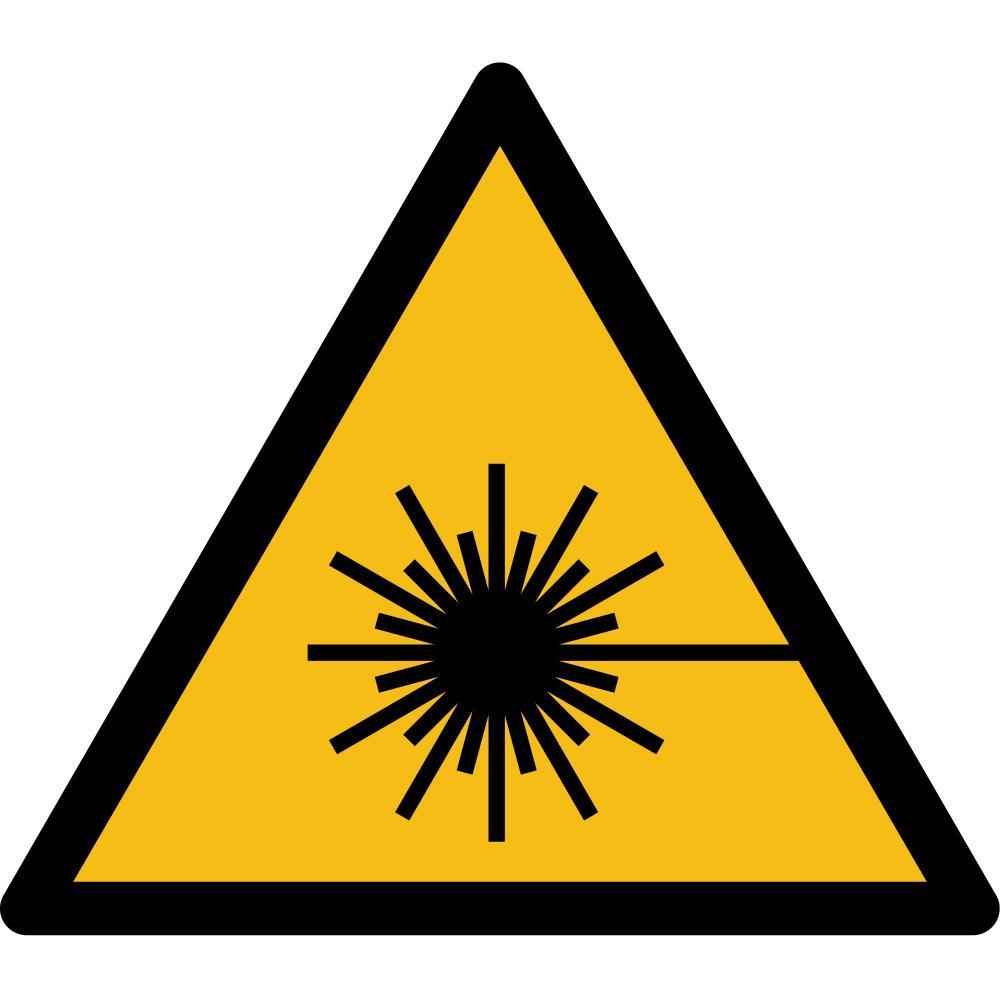 W004 - Warnung vor Laserstrahl - selbstklebend