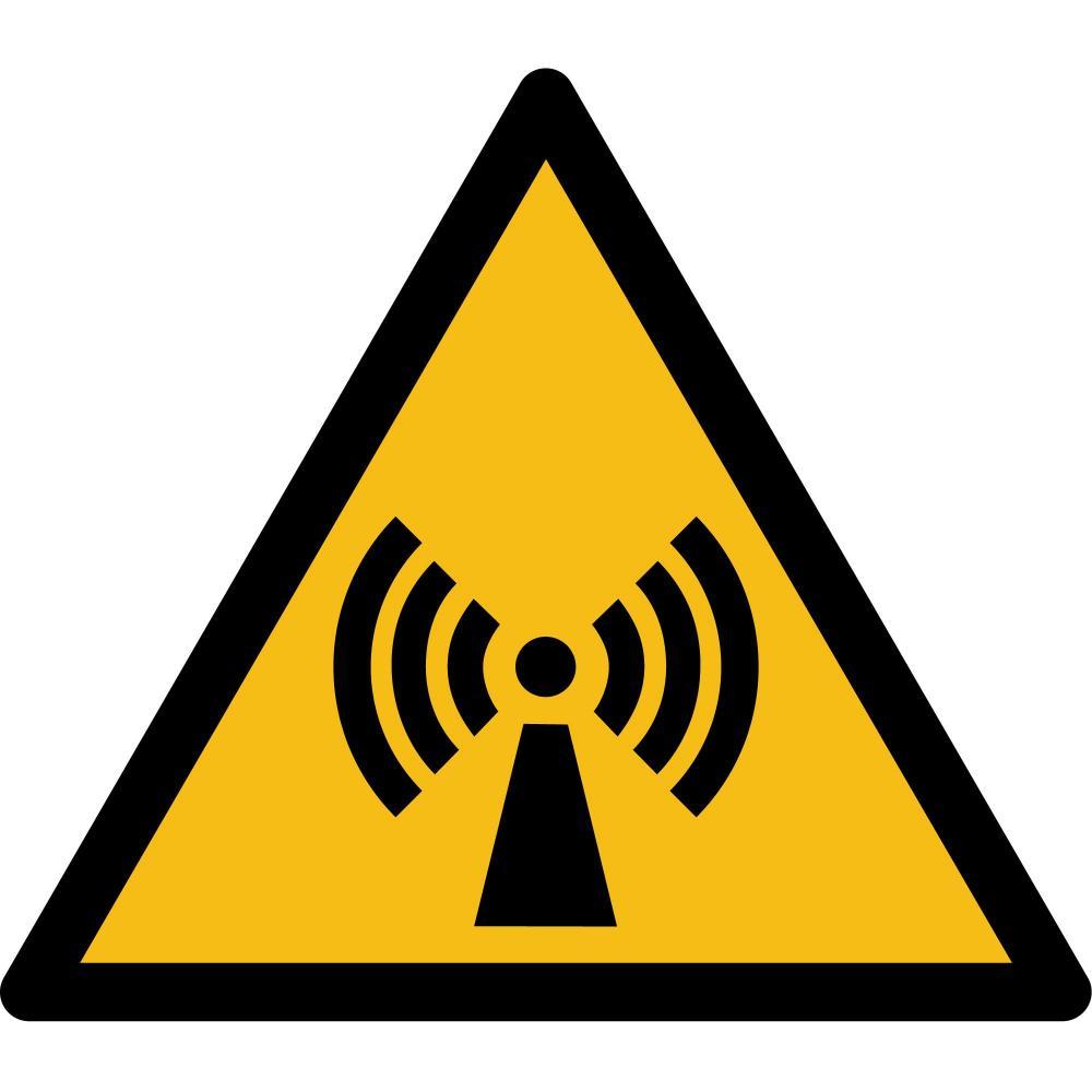 W005 - Warnung vor nicht ionisiernder Strahlung - selbstklebend