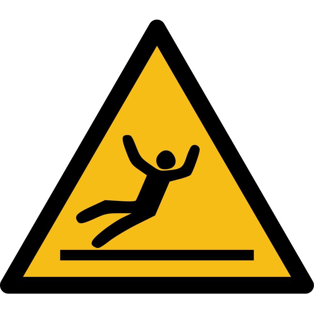 W011 - Warnung vor Rutschgefahr - selbstklebend