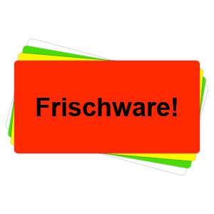 Versandaufkleber - Frischware - V035