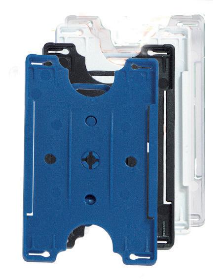 Offener Kartenhalter Hartplastik