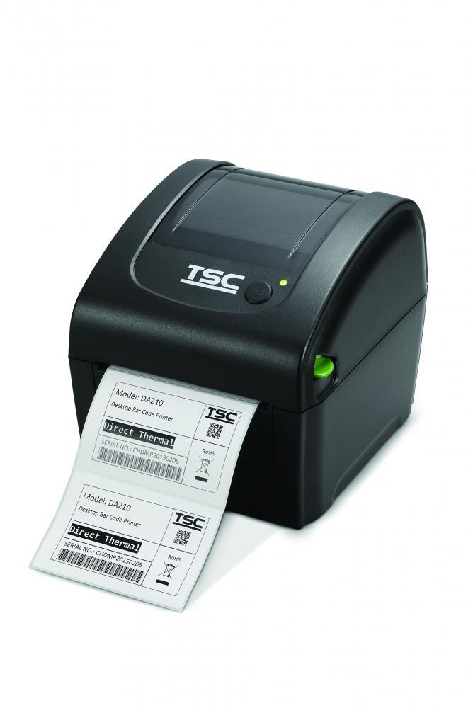 TSC DA220 203dpi mit Netzwerkanschluss, RS232, USB 2.0 und USB-Host