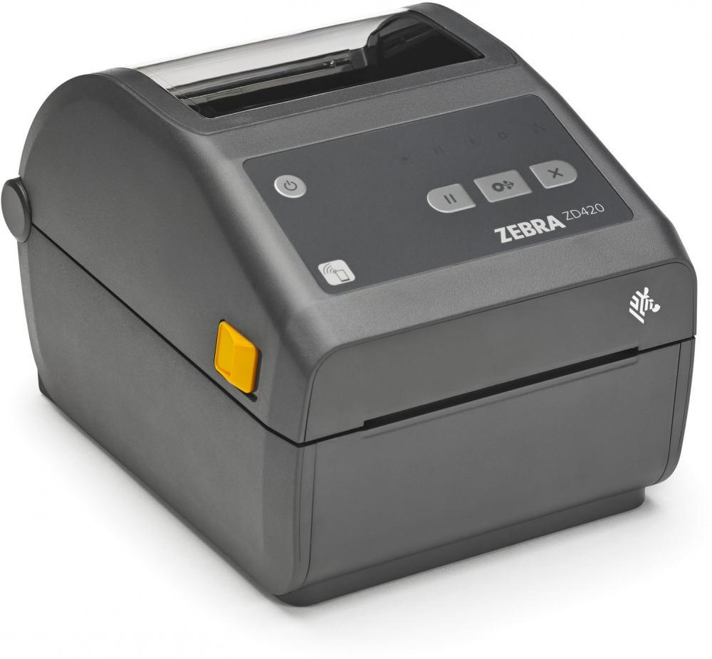 Zebra ZD420d Thermodirektdrucker 203dpi, Ethernet 10/100, USB, Bluetooth Low Energy, USB-Host