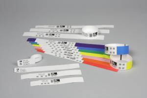 HC100-Armband Comfort, mit Klebeverschluss, Größe 25 x 152 mm, weiß  preis-günstig kaufen