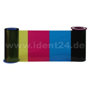 Zebra Farbband 4-Zonen YMCK ZXP Serie 8 / ZXP Serie 9  preis-günstig kaufen