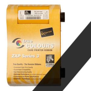 Zebra Farbband schwarz für ZXP3  preis-günstig kaufen