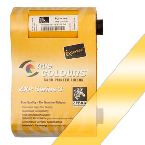 Zebra Farbband gold für ZXP3  preis-günstig kaufen