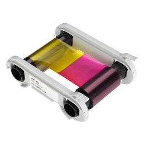 Evolis 5-Zonen-Farbband YMCKO - 100 Images / Rolle  preis-günstig kaufen