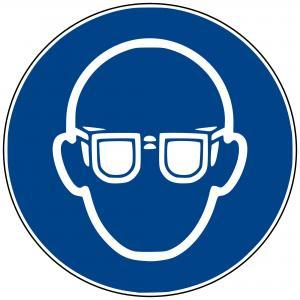 M04 - Augenschutz benutzen - selbstklebend  preis-günstig kaufen