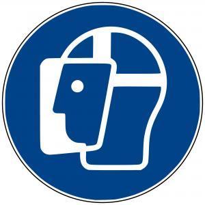 M13 - Gesichtschutz benutzen - selbstklebend  preis-günstig kaufen