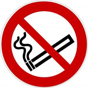 P002 - Rauchen verboten - selbstklebend  preis-günstig kaufen