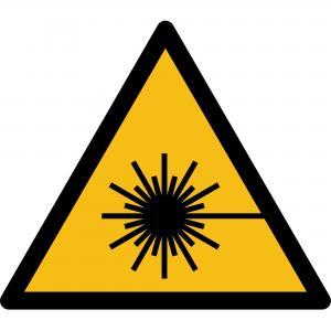 W004 - Warnung vor Laserstrahl - selbstklebend  preis-günstig kaufen