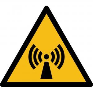 W005 - Warnung vor nicht ionisiernder Strahlung - selbstklebend  preis-günstig kaufen