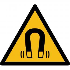 W006 - Warnung vor magnetischem Feld - selbstklebend  preis-günstig kaufen