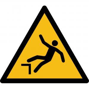 W008 - Warnung vor Absturzgefahr - selbstklebend  preis-günstig kaufen