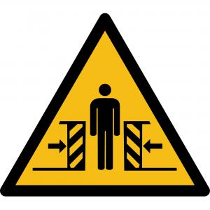 W019 - Warnung vor Quetschgefahr - selbstklebend  preis-günstig kaufen