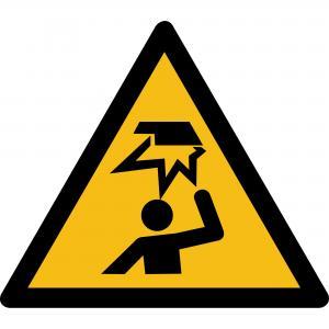W020 - Warnung vor Hindernissen im Kopfbereich - selbstklebend  preis-günstig kaufen