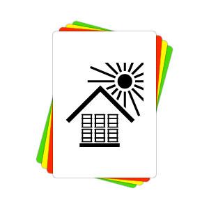 Versandaufkleber - Vor Hitze schützen - V003  preis-günstig kaufen