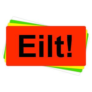 Versandaufkleber - Eilt - V039  preis-günstig kaufen