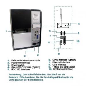 TSC TTP-2410MT WiFi slot preis-günstig kaufen