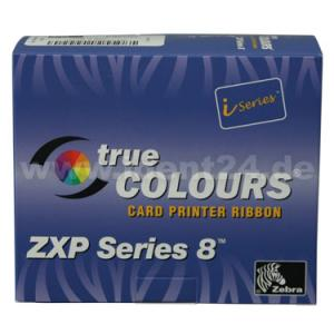 Zebra Farbband 5-Zonen YMCKK ZXP Serie 8 / ZXP Serie 9 preis-günstig kaufen